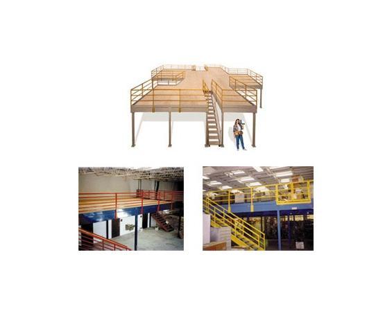 Custom Steel Mezzanines