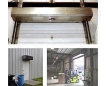 Industrial Air Curtain Doors